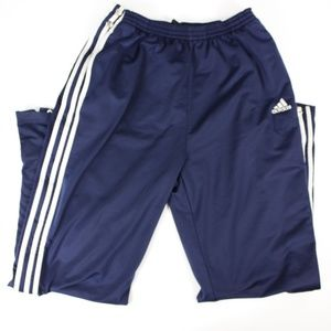 Adidas TEAM Warmup Snap Away Sides Pants Dark Navy